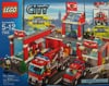 lego city fire station 600 pieces of lego blocks Puzzle