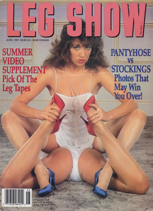 Leg show magazine models essence