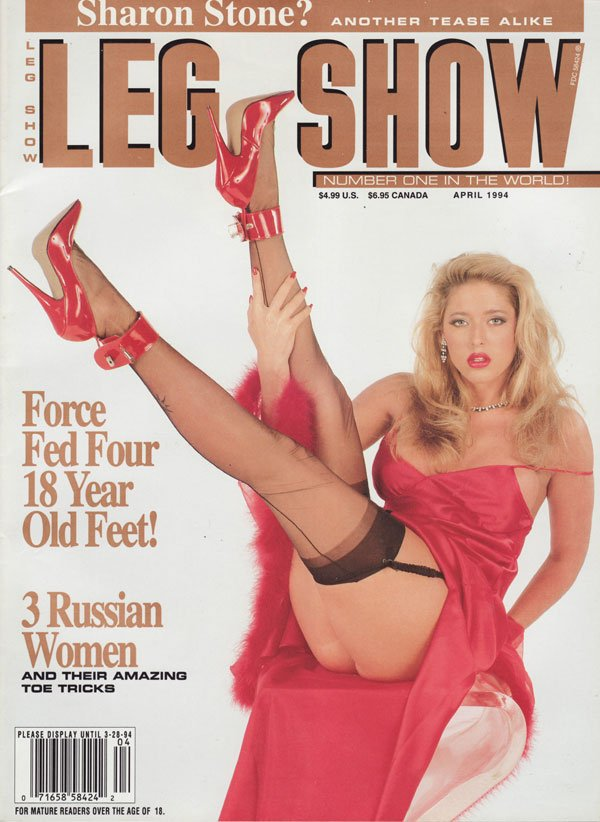 Leg show magazine photos