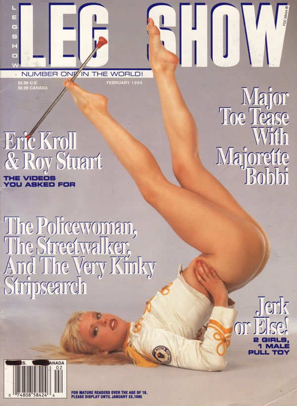 All Leg show magazine models