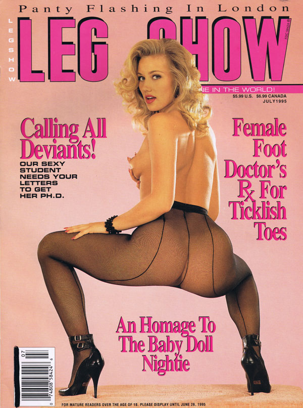 Leg show magazine models special