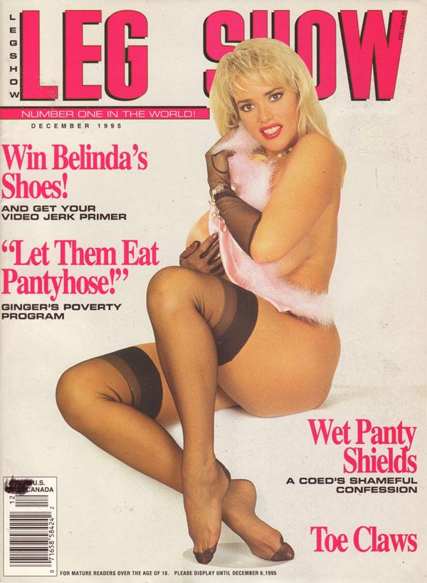 Leg show magazine models