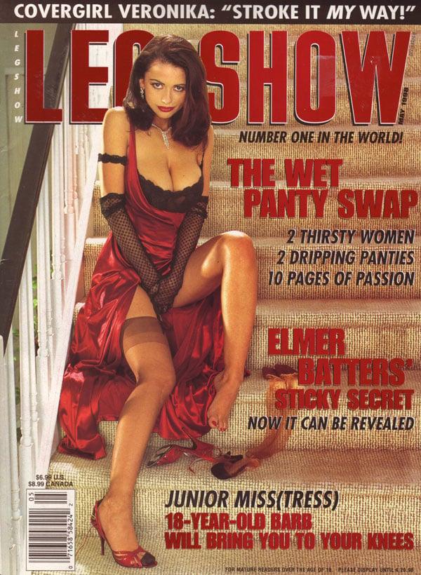 Leg show magazine models what necessary