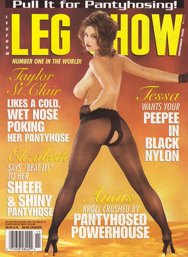 Back Issue Leg Show Magizine Copy Legshow Porn Mag Hot Naked