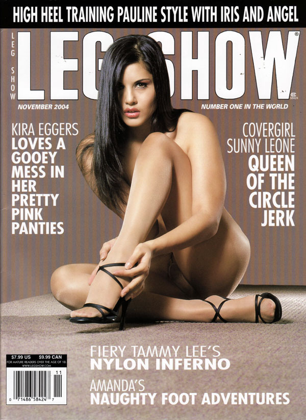 Leg show magazine models seems