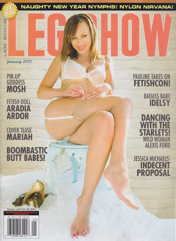 Suggest you Leg show magazine models