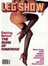 Leg Show September 1985 magazine back issue