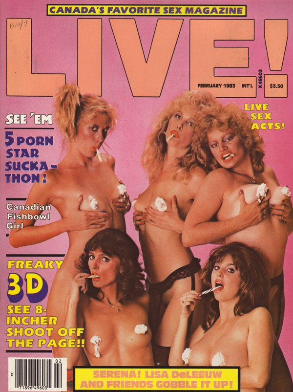 Live magazine porn covers