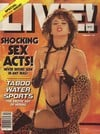 Ginger Allen Live February 1985 magazine pictorial