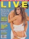 Racquel Darrian magazine cover Appearances Live June 1990
