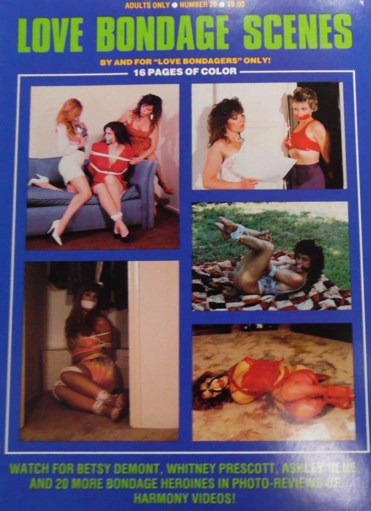 Love Bondage Scenes # 20 magazine back issue Love Bondage Scenes magizine back copy
