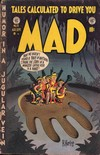 Mad # 6 magazine back issue