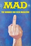 Mad # 166 magazine back issue