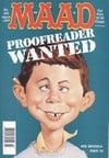 Mad # 355 magazine back issue