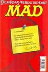 Mad # 416 magazine back issue
