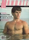 Unknown magazine cover Photographs Mandate May 1985
