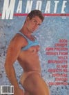 Unknown magazine cover Photographs Mandate August 1986