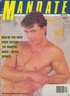 Hunky Says Relax magazine cover Photographs Mandate February 1987