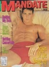 mandate gay porn magazine 1992 back issues hot xxx hunky men 6pack abs tight asses huge hard dicks t Magazine Back Copies Magizines Mags
