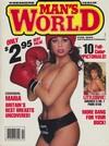 Man's World February 1989 magazine back issue cover image