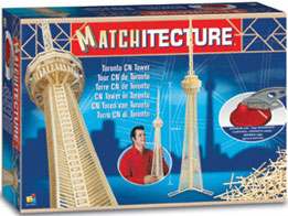 cntower matchstick puzzle 3d jigsaw puzzle made of match sticks by bj toys difficult advanced puzzle cntowermatch