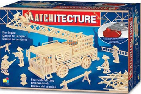 3d jigsaw puzzle made of matchsticks fire engine 3 dimensional fireengine model puzzle 1500 pieces fireengine
