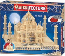 tajmahal agra india 3d match sticks puzzle 7500 pieces very difficult tajmahalindiamatchstick