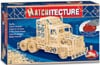 Truck Trailer 3d puzzle replica made of matchsticks by matchitecture 2000 matches with special cutte