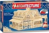 country-house-matchstick-puzzle,country house match stick 3d jigsawpuzzle matchitecture bjtoys microbeams glue tweezers included
