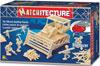 bulldozer three dimensional jigsaw puzzle replica matchstick puzzle matchitecture bojeux Puzzle