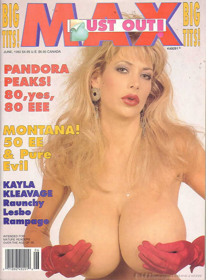 Max June 1992 magazine back issue Max magizine back copy