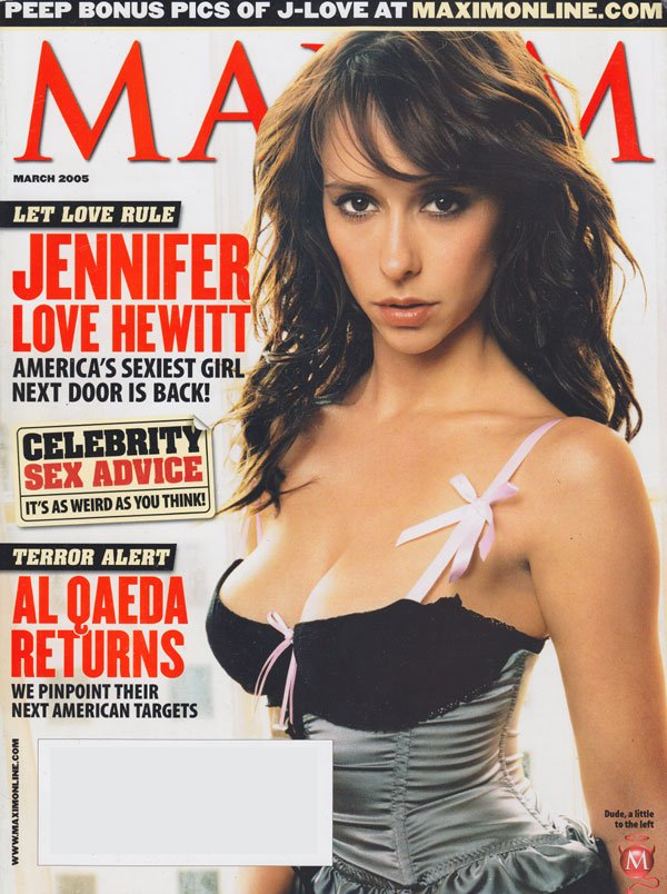 Maxim # 87 - March 2005 magazine back issue Maxim magizine back copy maxim magazine 2005 back issues jennifer love hewitt covergirl sexy pics hottest celebs interviews s