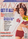 Christa Miller magazine cover Appearances Maxim # 1- No CD - 1997