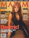 Carmen Electra magazine cover Appearances Maxim # 3 - September/October 1997