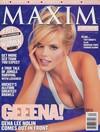 Gena Lee Nolin magazine cover Appearances Maxim # 4 - November/December 1997