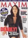 Famke Janssen magazine cover Appearances Maxim # 5 - Jan/Feb 1998