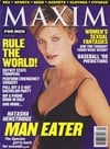 Natasha Henstridge magazine cover Appearances Maxim # 7 - April 1998