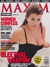 1998 back issues of men's magazine maxim sexy erotic celebrity nearly nude pictorials interviews sex Magazine Back Copies Magizines Mags