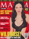 maxim magazine march 1999 back issues hot sexy almost nude celebrity photos rose mcgowan covergirl s Magazine Back Copies Magizines Mags