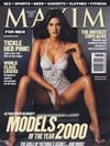 2000 back issues of maxim magazine models of the year 2000 sexy women almost nude sex tops sports ga Magazine Back Copies Magizines Mags