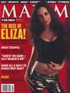 Eliza Dushku magazine cover Appearances Maxim # 41 - May 2001