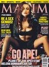 Helena Bonham Carter magazine cover Appearances Maxim # 44 - August 2001