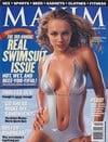 Amanda Marcum magazine cover Appearances Maxim # 50 - February 2002