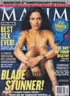 Leonor Varela magazine cover Appearances Maxim # 52 - April 2002