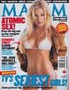 Elisha Cuthbert magazine cover Appearances Maxim # 58 - October 2002