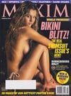 Minka Van Der Westhuizen magazine cover Appearances Maxim # 62 - February 2003