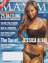 Jessica Alba magazine cover Appearances Maxim # 71 - November 2003