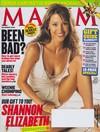 Shannon Elizabeth magazine cover Appearances Maxim # 72 - December 2003