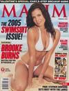 Brooke Burns magazine cover Appearances Maxim # 86 - February 2005