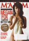 maxim magazine oct 2008 megan fox transformers college football mens mag las vegas article hot chick Magazine Back Copies Magizines Mags